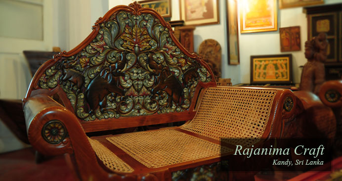 Rajanima Craft - Wood Craft - Kandy Sri Lanka